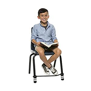Bouncy Bands for Elementary School Chairs (Black)
