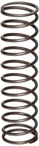 Music Wire Compression Spring, Steel, Inch, 0.18'' OD, 0.026'' Wire Size, 0.203'' Compressed Length, 0.31'' Free Length, 5.03 lbs Load Capacity, 47 lbs/in Spring Rate (Pack of 10) by Small Parts