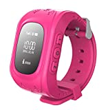 smart watch for Kids Birthday Gifts Children Smartwatch Sos Call Gps Girls Boys Anti-Lost Finder Voice Chat for Android and Ios-Three Colors Optional