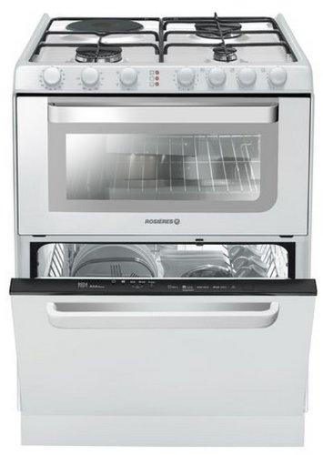 Rosieres TRM 60 RB appareil de cuisine combi - appareils de cuisine combi (Blanc, Electrique, Combiné, A, A, A) [Classe énergétique A]