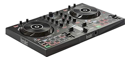 Hercules–DJControl Inpulse 300–Controlador DJ USB–2Pistas con 16Pads y Tarjeta de Sonido–Incluye Software y Tutoriels
