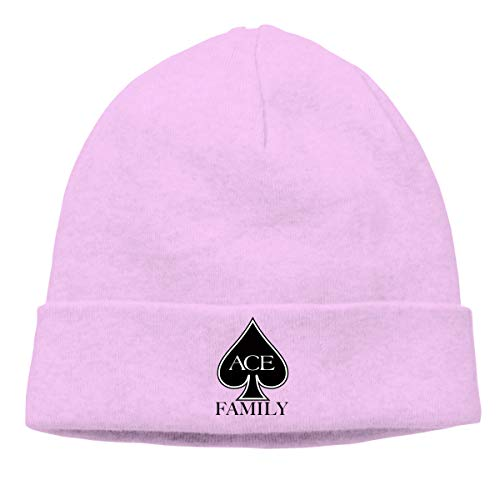 Women's Men's Knitted Hat The Ace Collection Cap Street Dance Hat Pink ()