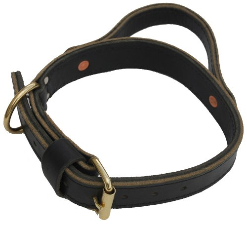 Signature K9 1-1/2-Inch Agitation Collar with Handle, Black, My Pet Supplies