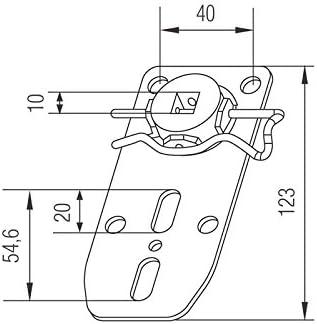 ERE5 Maxi Motoren Rolladenmotoren Rohrmotoren Rolladenantriebe Rolladen PROFI-LINE Fertigkastenlager m EE5 Abrollfunktion f/ür E5