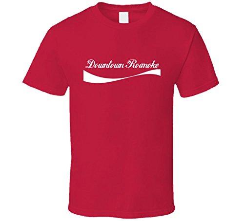 Downtown Roanoke USA City Parody T Shirt XL Red