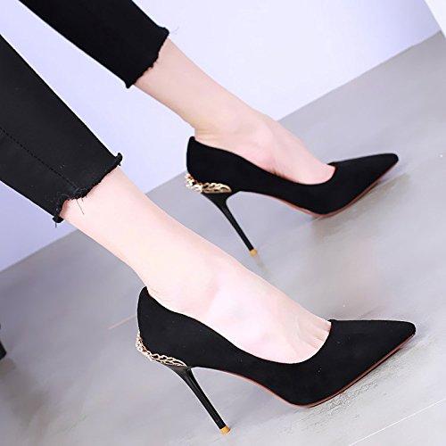 Coinciden Consejo Una En El Rhinestones Tacones Ssby Todos Altos Multa Moda Con Primavera 9cm Black Zapatos Boca Superficial Nuevo Sexy IwUBzdxz