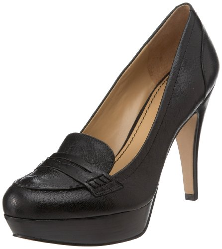 NINE WEST - Damen-Pump NWABALENE BLACK Hacke: 12.5 cm