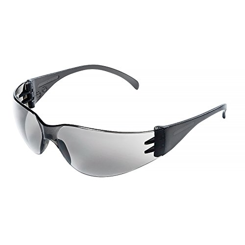 Sellstrom S70721 X300 Safety Glasses, Protective Eyewear, Smoke Lens, Smoke Frame (Pack of 12)