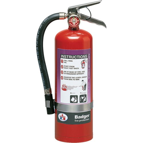 Badger 23488 Extra 5 lb Purple K Fire Extinguisher w/ Wall Hook by Badger (Image #1)