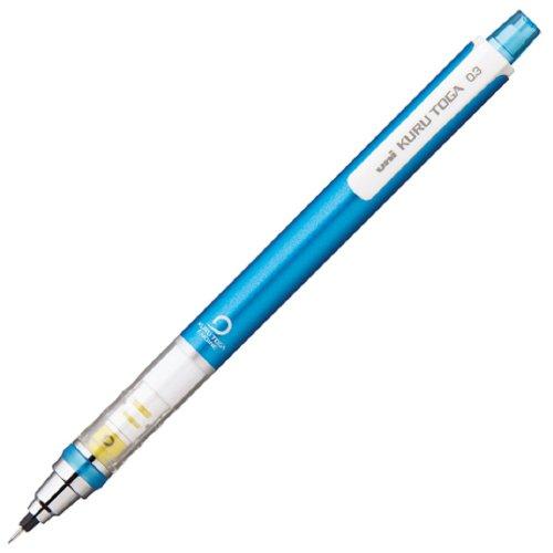 Uni Kurutoga Mechanical Pencil Standard, 0.3mm, Blue (M34501P.33)