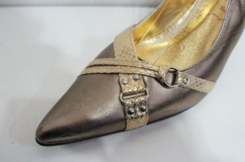 Stiletto Slingback Slingback Stiletto Gold Sandal TUfq7ZvT