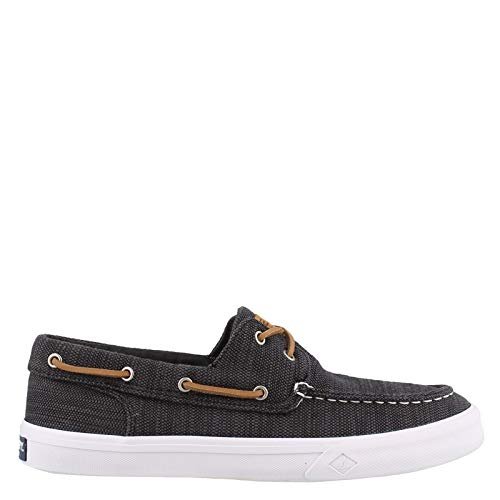(Sperry Men's Bahama II Baja Sneaker, Black, 130 Medium US)