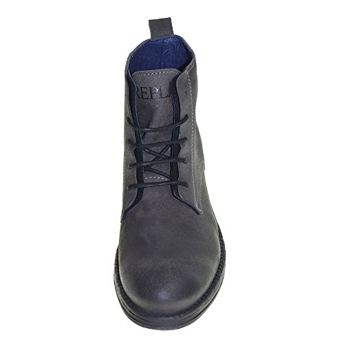 Social replay Boot Grey Dark Hommes RC410002L pnH7q