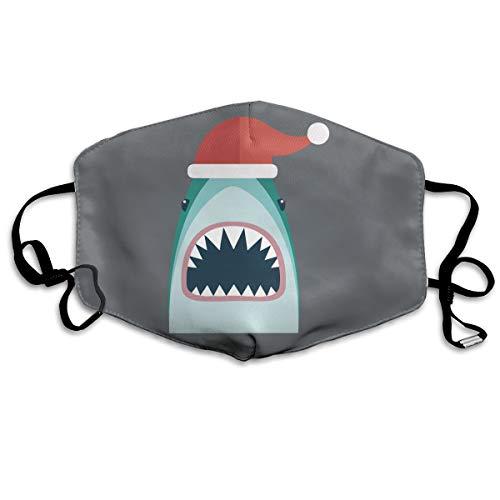 SyjTZmopre Santa Jaws Underwear Mouth Mask Unisex Printed Fashion Face Anti-dust Masks