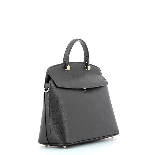 Piper My Handle Top M Donna Borsa Onyx FURLA w7Iqvfdx57