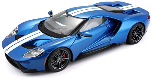 Maisto Exclusive Edition 2017 Ford GT Diecast Vehicle (1:18 Scale) Colors May - Diecast Ford