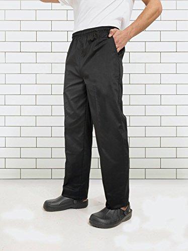 Premier Essential Chefs Trouser - - Black/Grey Fine Stripe - XS by Premier (Image #4)