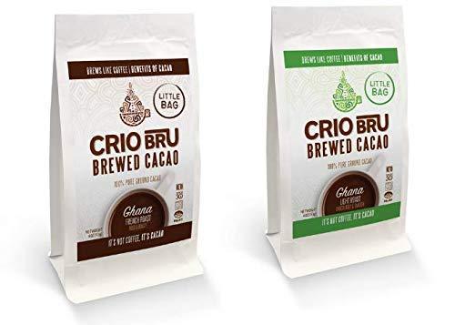 Crio Bru - Paquete de 2 bolsas para bebida de cacao con ...