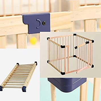PNFP Baby Playpen Baby Play Fence Baby Crawl Toddler Fence Solid Wood Indoor Child Safety Fence Fence Strong and Durable//Made from High Quality Size : 180 * 200cm