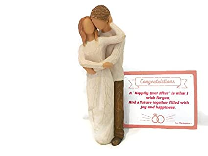 willow tree together statue figurine best bridal shower gift wedding gift for bride and