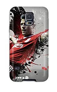 AnnDavidson Design High Quality Steven Gerrard Cover Case With Excellent Style For Galaxy S5