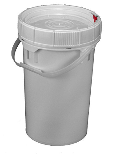 M&M's Screw Top Bucket - 6.5 Gallon with White Lid; Heavy...