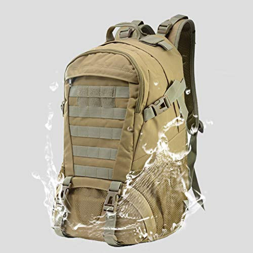 Military Tactical Backpack - 45L Outdoor Waterproof Backpack, Adjustable & Removable Chest Belt and Hip Belt Trekking Backpack, for Camping, Hiking, Trekking (♥ C) by Hisoul (Image #1)