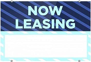 Victorian Card Premium Acrylic Sign CGSignLab Now Leasing 16x16