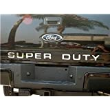 Ford Super Duty 2008-2016 Chrome Mirror Back Letter Inserts