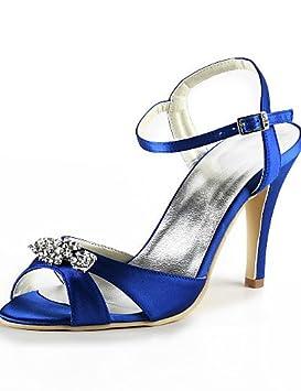 ZQ Zapatos de boda-Tacones-Tacones / Punta Abierta-Boda / Vestido /