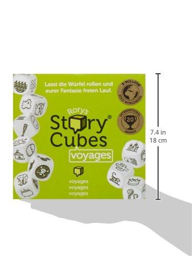 W/ürfelspiel Hutter 603994 Story Cubes Voyages