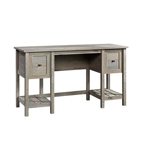 Sauder 422477 Cottage Road Desk, Mystic Oak Finish (Slat Two Shelves)