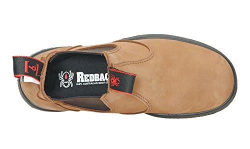 Redback UBCH Nubuck Crazy Horse Brown, Stivali chelsea unisex adulto, Marrone (Crazy Horse Brown), 44