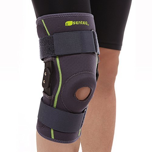 SENTEQ Hinged Knee Brace, Medical Grade and FDA Approved,...