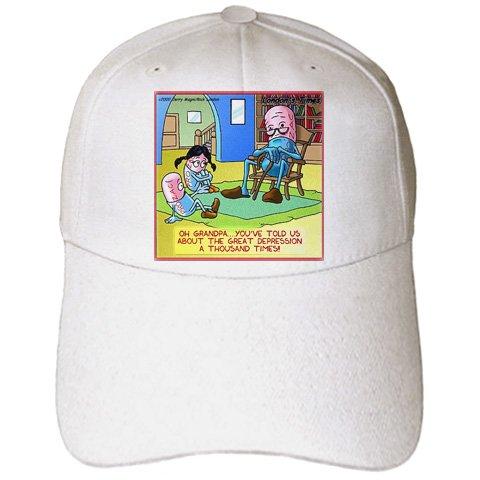 londons-times-funny-medicine-cartoons-grandpa-prozac-and-the-great-depression-caps-adult-baseball-ca