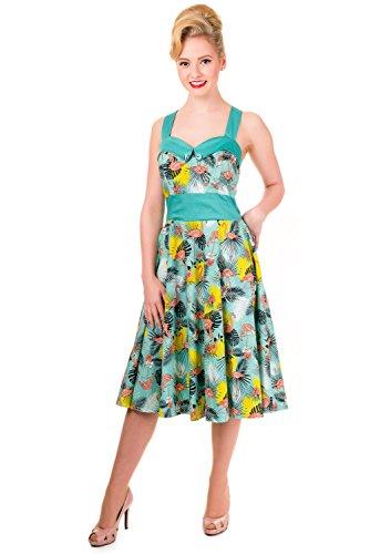 Dress Pin Flamingo Wanderlust 1950s Banned Up Flamingo Halter Vintage xS0vqxnwf