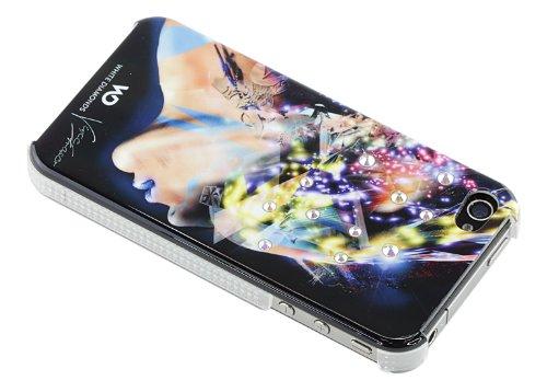 White Diamonds Nafrotiti Case Schutzhülle für Apple iPhone 4/4S schwarz