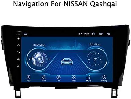GPSナビゲーション日産QashQai 2016 / X-Trail 2014簡単インストールサポート受信機ビデオプレーヤーFM /ラジオWIFI/Bluetooth/TF/USB/A