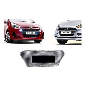 Auto Spare World Front Chrome Grill For Hyundai Grand I10 2017