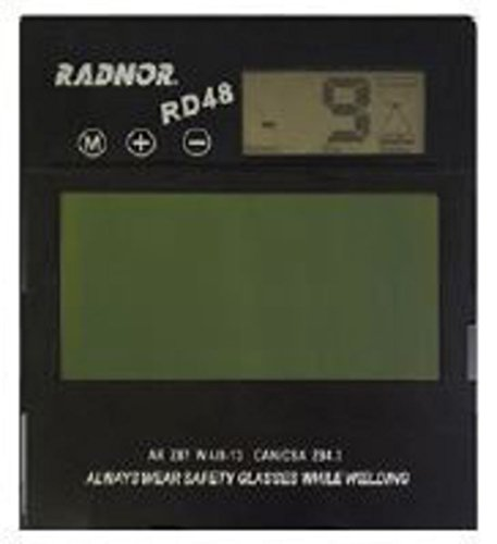 Radnor 64005181 5 1/4'' X 4 1/2'' RD48 Variable Shade 9-13 A