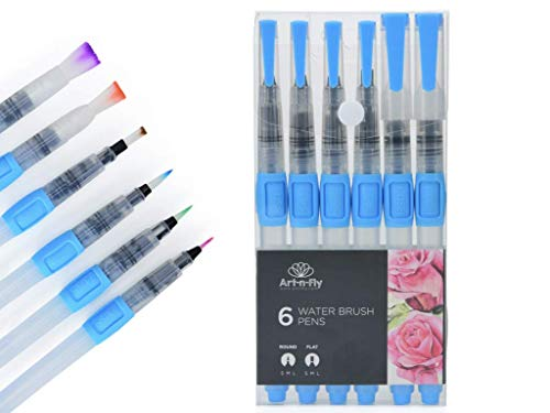 - Water Brush Pen Set for Water Color Painting Watercolor Pen for Calligraphy Lettering Aquarelle