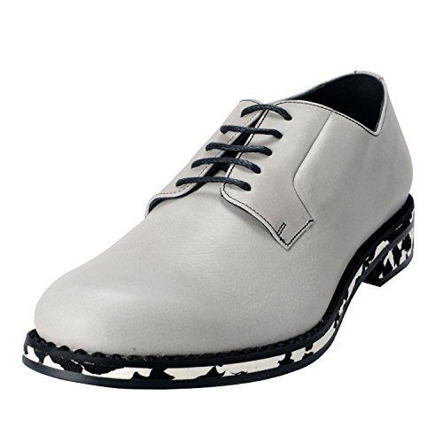 Oxfords Shoes Gray Cloud Gray Lace Up Jimmy Choo Leather Cloud Alaric Mens wOgnqHSU
