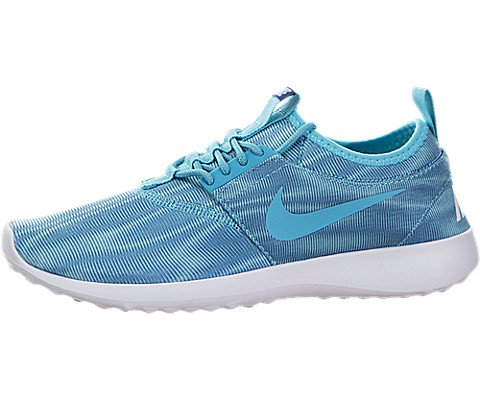 new concept 1528b a5c02 Galleon - Nike Women s Juvenate Print Round Toe Canvas Running Shoe, Blue -  7 B(M) US
