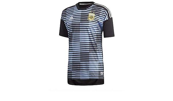 Adidas Argentina de Home Pre Match Camiseta: Amazon.es: Deportes y aire libre