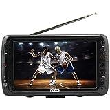 NAXA Electronics NT-70 7' Portable TV & Digital Multimedia Player (Black)