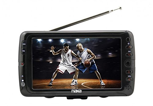 NAXA Electronics NT-70 7' Portable TV & Digital Multimedia P