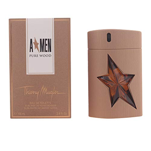 Thierry Mugler AMen Pure Wood Eau De Toilette Spray 100ml/3.4oz ()