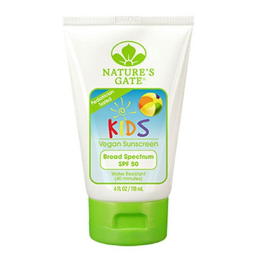 Nature's Gate Fragrance Free Kid's Block Sunscreen SPF 50-4 oz
