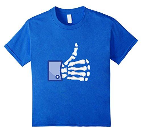 [Kids Fan Boy - Halloween Costume T-Shirt 4 Royal Blue] (Joker Halloween Costume Nurse)