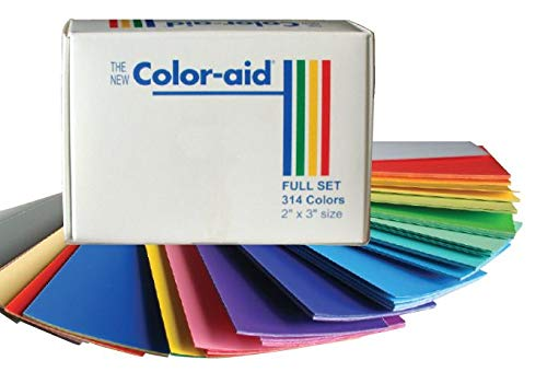 Coloraid Full Set of 314 Color Swatches - 4.5 x 6 Inches